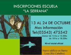 Escuela La Serrana