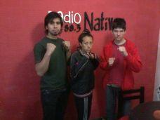 Paulo Zuleta, Magalí Estella y Manuel Rial