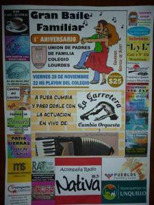 Afiche Aniversario Unión de Padres