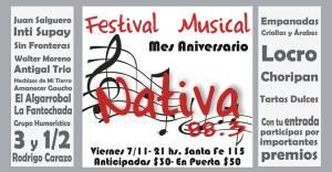 invitacion festival aniversario