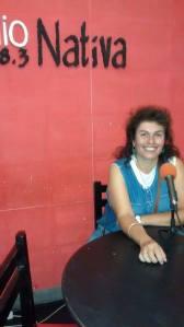 Claudia Molina- Docente de Artística Escuela Luis Morzone
