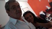 Enrique Nocelli y Graciela Taborda en Radio Nativa
