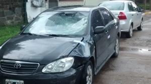 Toyota involucrado en hecho de tránsito de Yapeyú y 9 de Julio