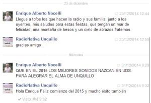 Saludo Enrique Nocelli