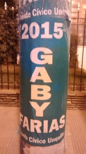 Carteles Gaby Farias