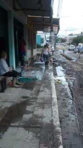 Inundaciones- Comercios damnificados