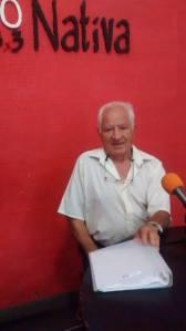 Antonio Ontivero  coordinador adultos mayores
