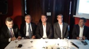 Conferencia de Prensa en Mendiolaza