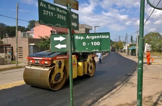 Repavimentación Villa Aurora