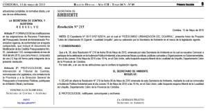 Suspensión Audiencia Pública El Montecito