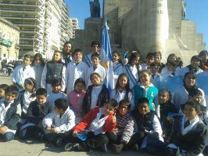 Promesa a la Bandera en Rosario- Esc. Vélez Sarsfield