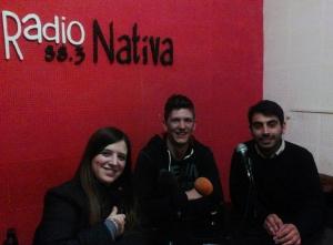 Rocío Carnero Spadoni, Iván Drazul y David Núñez