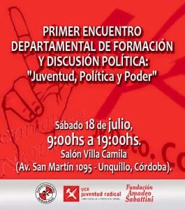 UCR Juventud, Polìtica y poder
