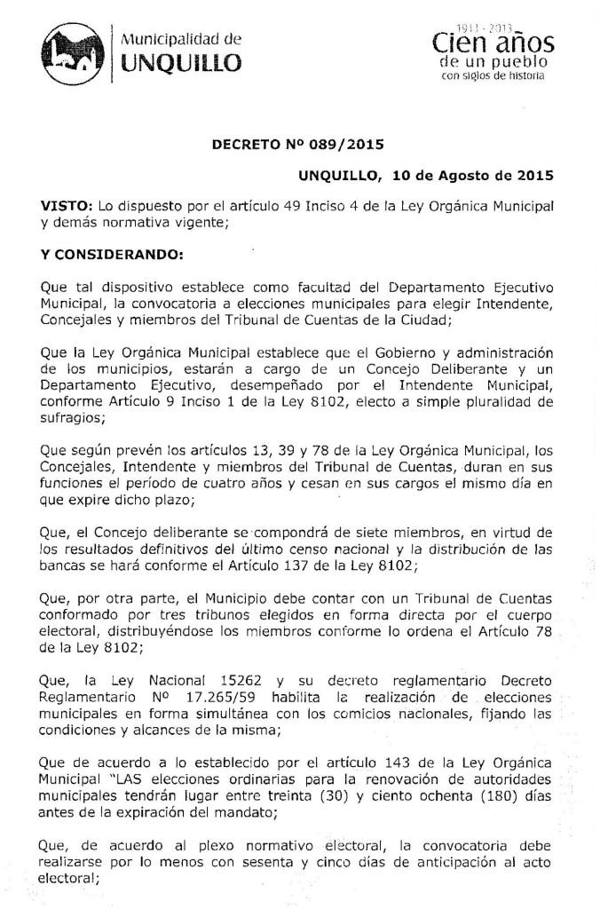 Decreto 089 1