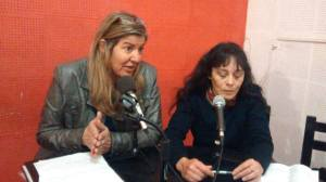 Norma Costabel y Gloria Serra