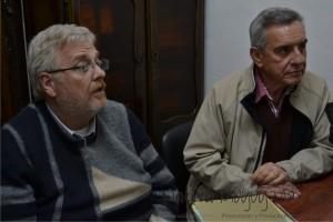 Carlos Gabutti y Jorge Fabrissin