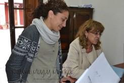 Laura Flores y Marcela Igoillo