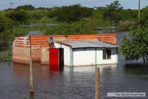inundación entre ríos