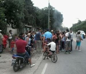 Corte de Calle en San Miguel