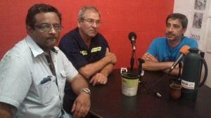 Foto de Archivo: Alejandro Murúa, Juan Lescano y Hugo Durán- ATE