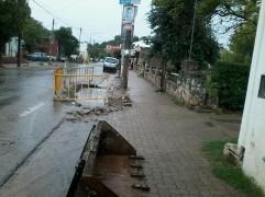 Reparación en San Martín 2900