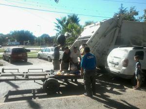Reclamo por basura en Municipalidad de Mendiolaza