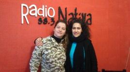 Ginette Mengarelli y Florencia Ortiz